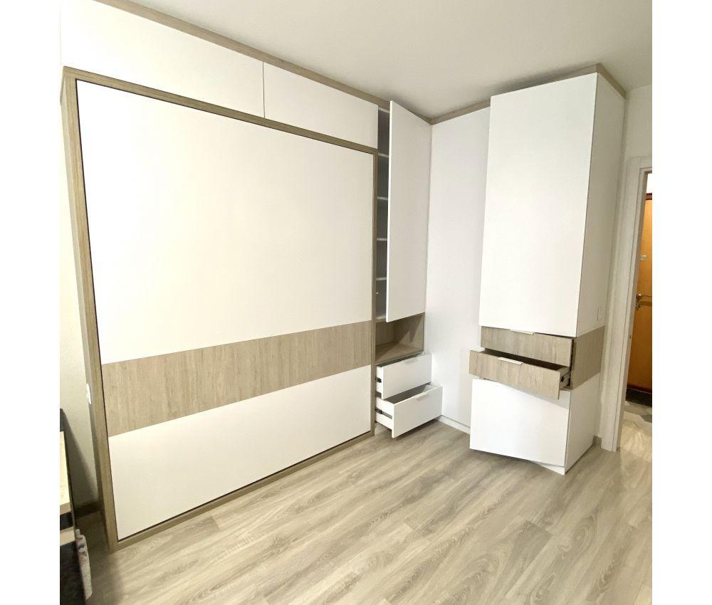 Кровать трансформер со шкафом: Фаниполь
