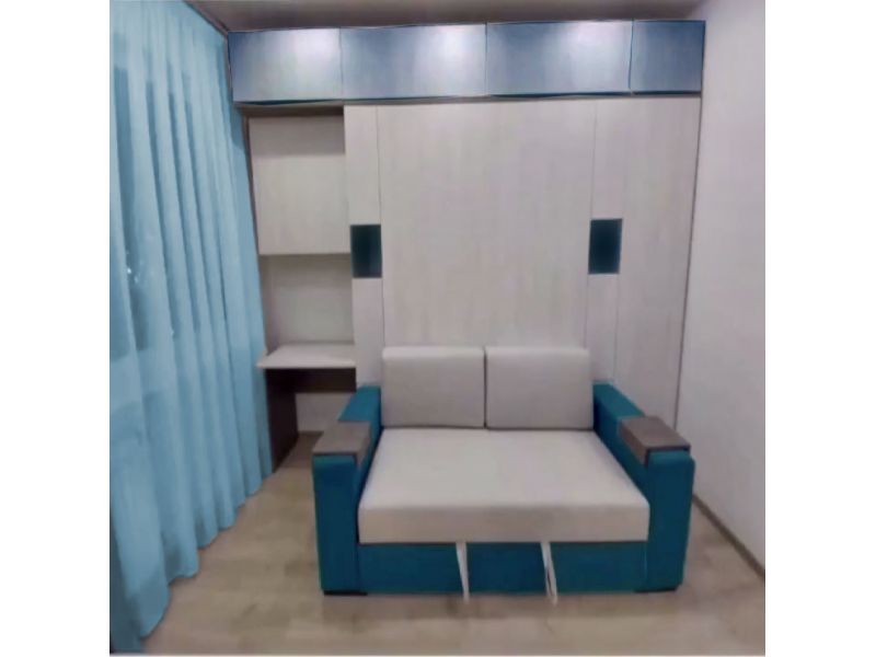 Шкаф-кровать с диваном и столом: ул. Брилевского, д.31
