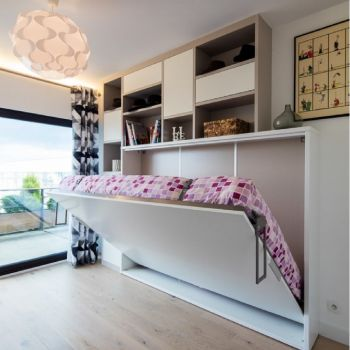 Шкаф кровать горизонтальный