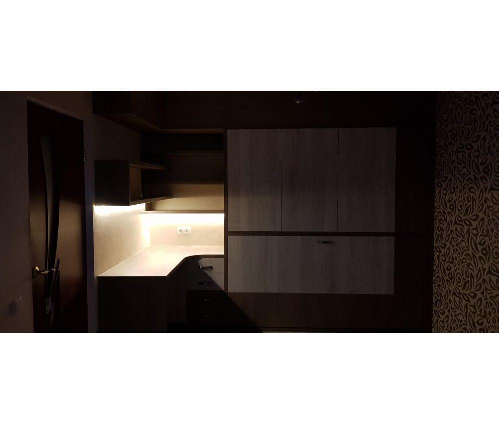 Мебель трансформер трансформер в детскую со столом и подсветкой: , Новая Боровая: ул. Авиационная