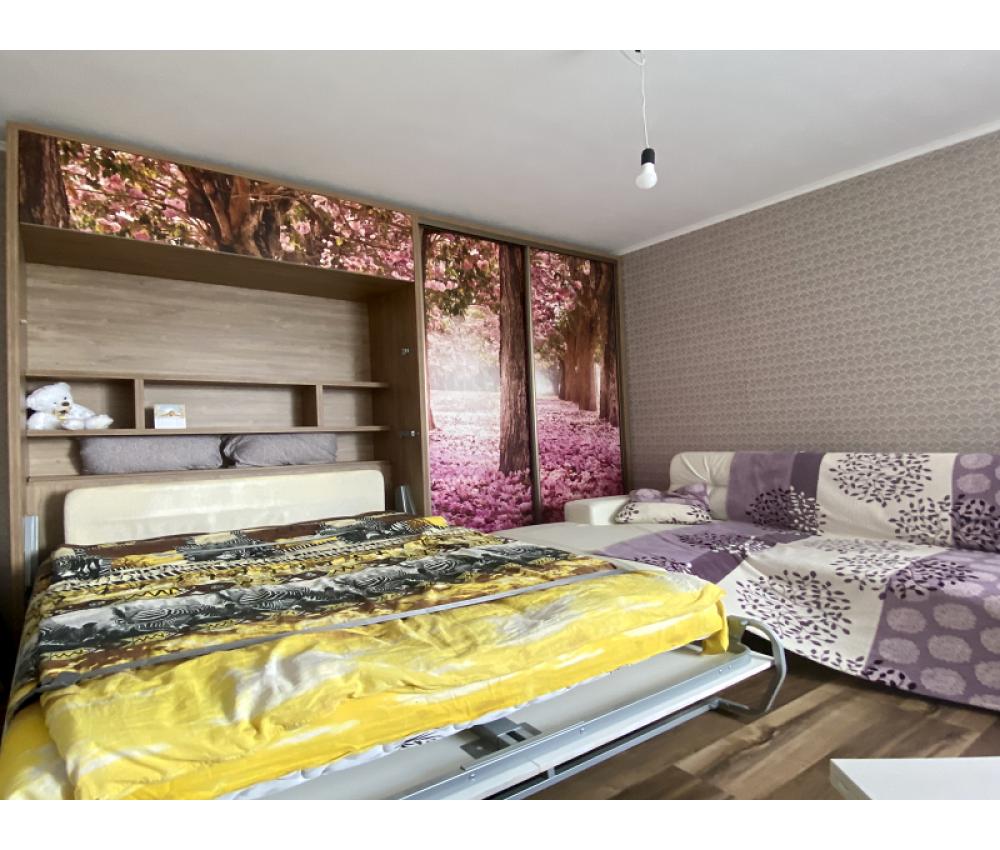 Кровать трансформер со шкафом-купе: Фогеля, д.1В