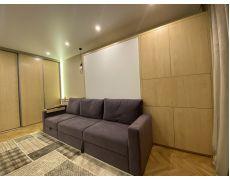 Кровать трансформер со шкафами и диваном