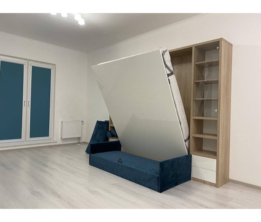 Кровать трансформер с пеналами : Новая Боровая, ул. Авиационная, 1