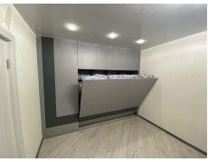 Кровать трансформер горизонтальная со шкафом
