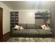 Кровать трансформер с большим диваном и стеллажом