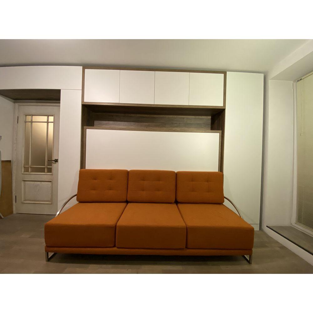 Кровати трансформер горизонтальная с диваном оранжевым: ул. Куйбышева