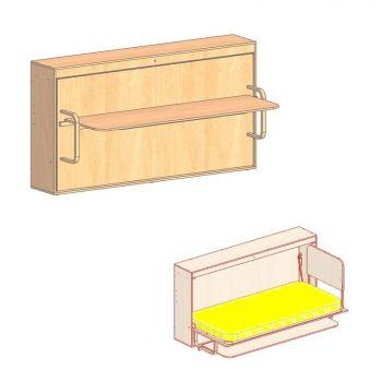 """Механизм стол- кровати трансформер  """"Carat"""" (стол вниз)"""